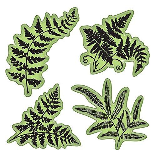 Inkadinkado 65-32083 Stamping Gear Cling Stamps, Ferns by Inkadinkado