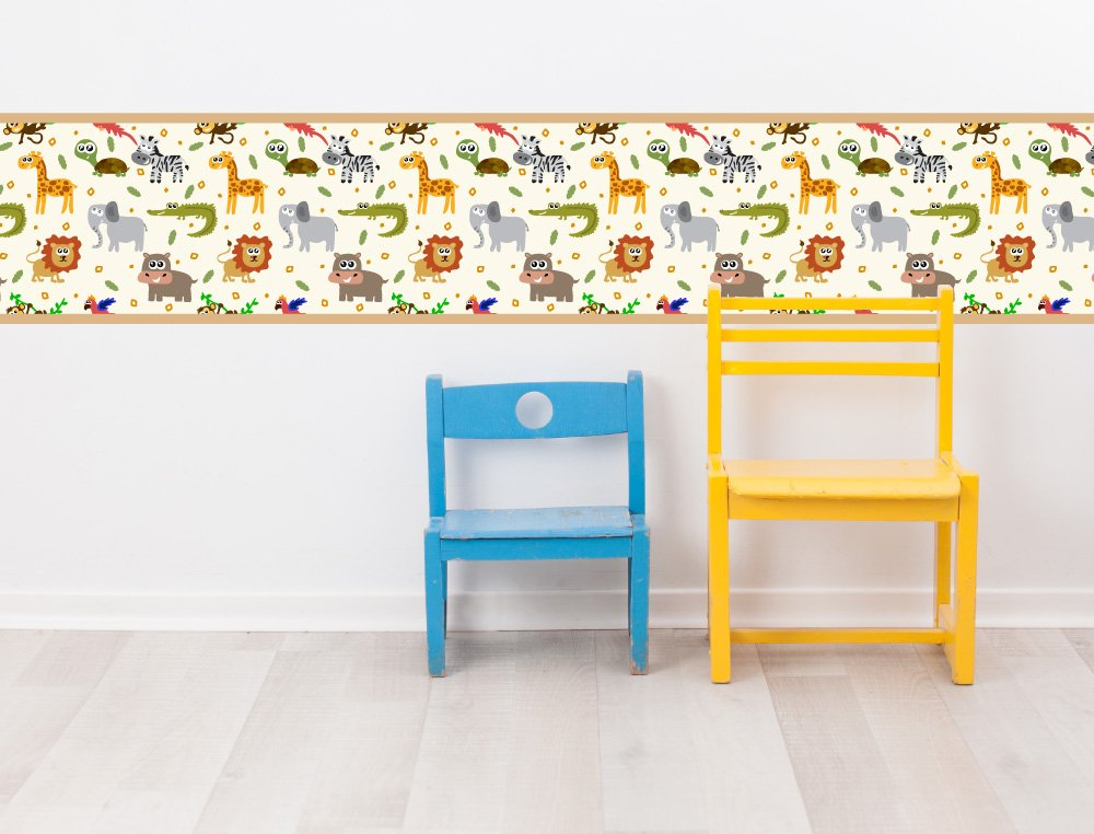 I-love-Wandtattoo b-10178 Kinderzimmer Bordüre \