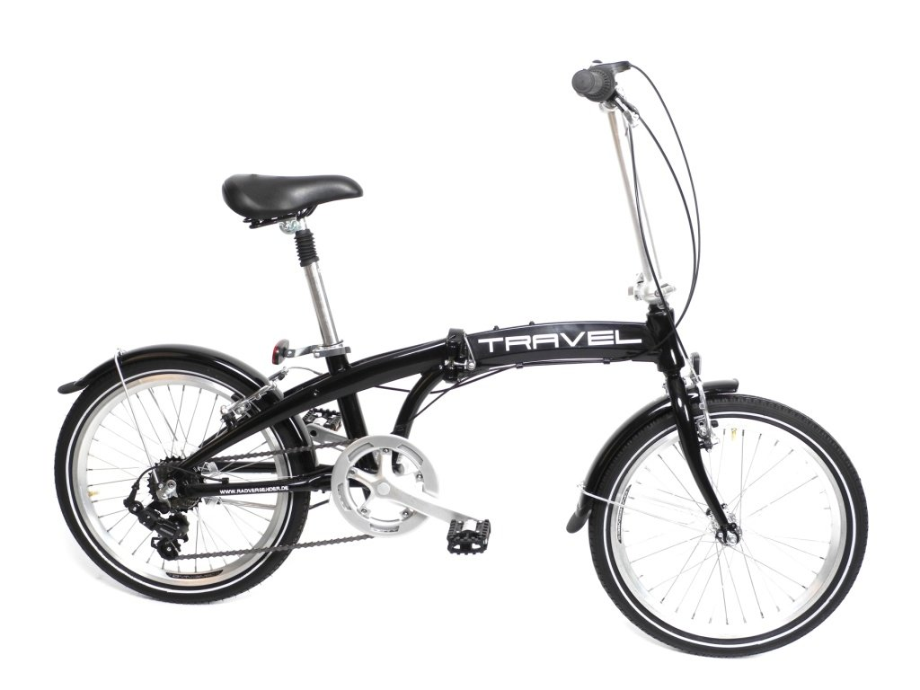 20 zoll alu klapp falt rad fahrrad folding bike shimano 7. Black Bedroom Furniture Sets. Home Design Ideas