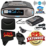 Escort 0100037-1 Max 360C Radar Laser Detector with Wi-Fi Smart Direct Power Cord + MicroFiber Cloth + 1-Year Extended Warranty Bundle