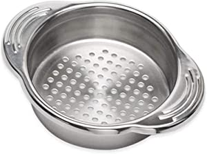 Stainless Steel Food Tin Strainer, Can Press Strainer, Best for Canned Tuna