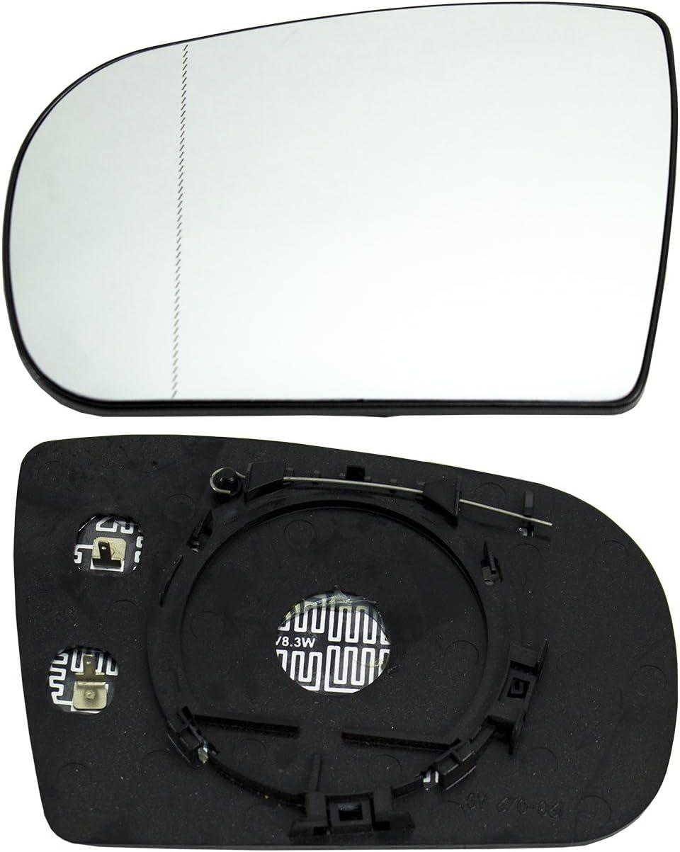 TarosTrade 57-0187-L-46720 Vetro Specchietto Retrovisore Riscaldabile Lato Sinistro