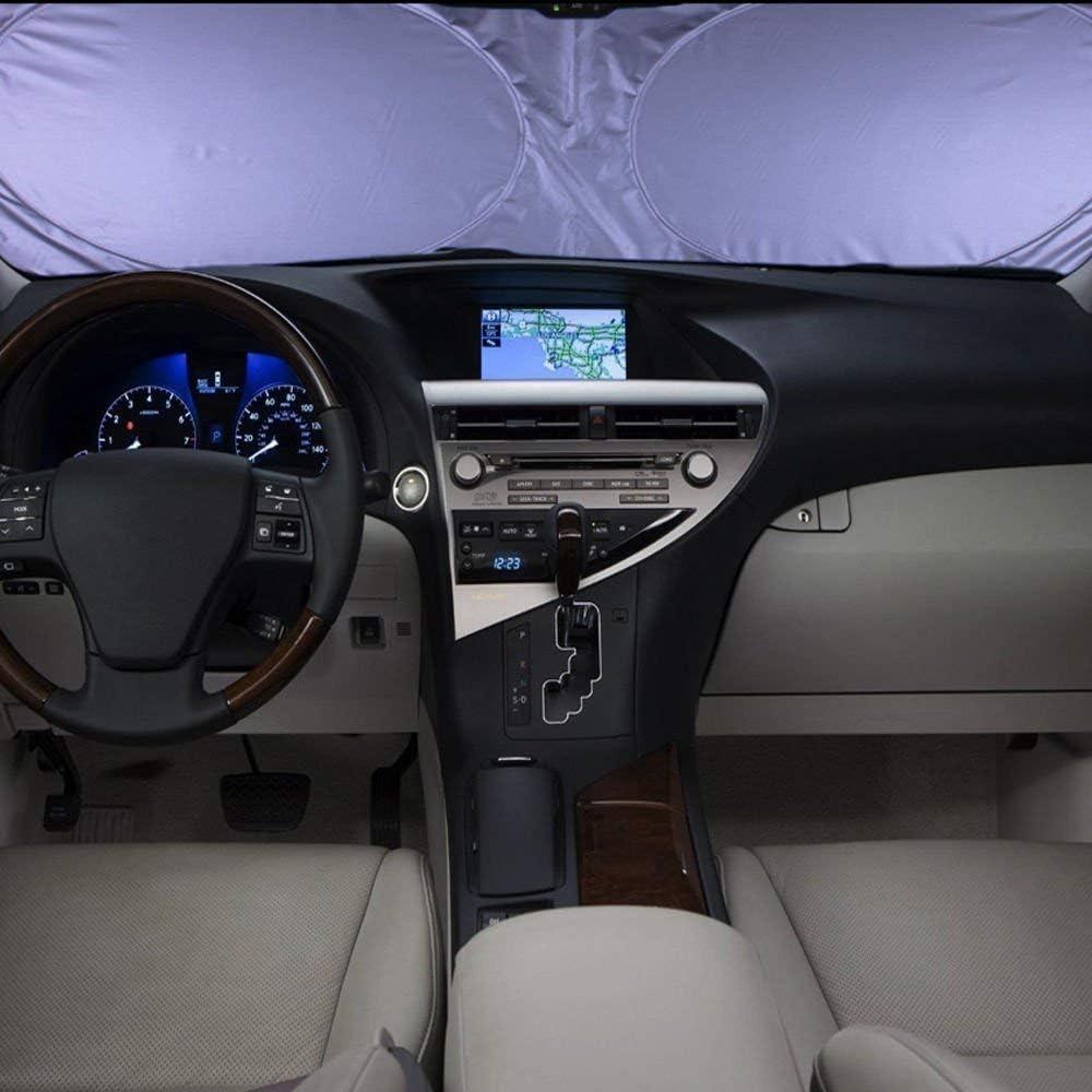 Ventanilla del coche Sombrilla Sombra UV Protector Retr/áctil Plegable Parabrisas del coche al aire libre para ni/ños Adultos Ni/ños peque/ños Universa