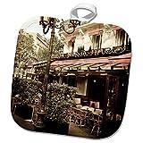 3dRose Danita Delimont - France - Le Metro Restaurant, Left Bank, Paris, France - 8x8 Potholder (phl_257633_1)