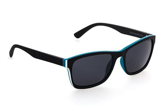 8b611d0133c2 Amazon.com: DESPADA, Made In ITALY Men's Square Rectangular Sunglasses UV  400 Sun Glasses Polarized Lens DS1410c4 (Matte Black, Grey): Clothing
