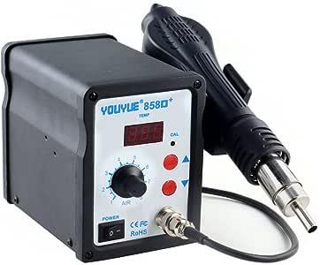 YOUYUE 858D Hot Air Gun Rework Station SMD Solder Soldering Digital 110V 700W