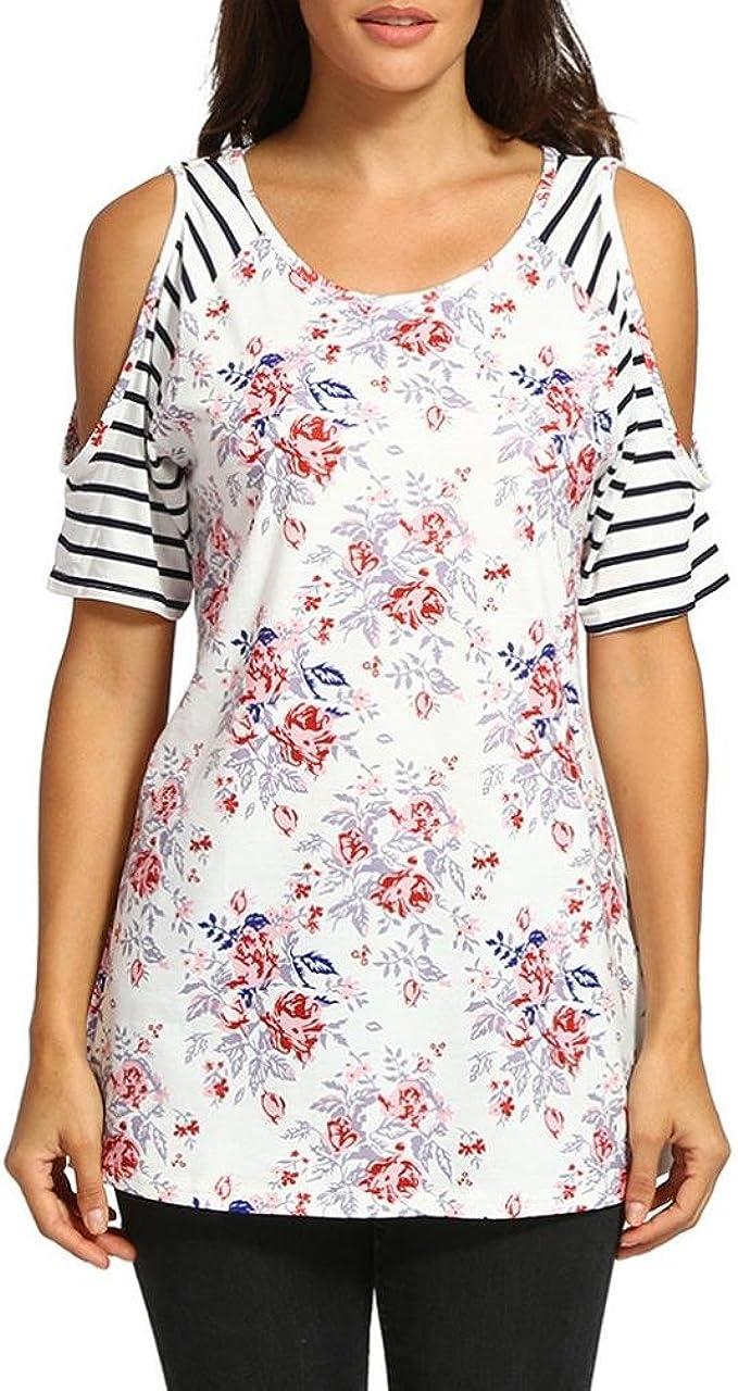Camisa de Mujer Ropa De Mujer Blusa De Mujer Elegante Verano ...