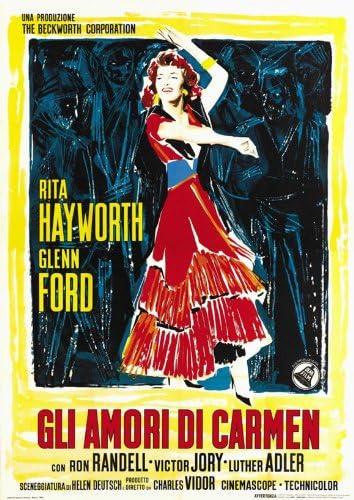 El diseño de flores de Carmen Póster de película en diseño de ...