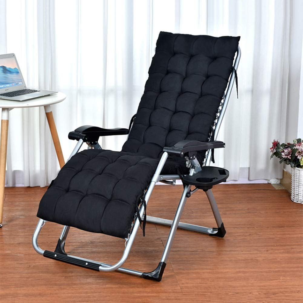 Support 200kg Patio Reclining Chairs with Cushions for Heavy People color : GRAY Folding Outdoor Beach Lawn Camping Portable Chair