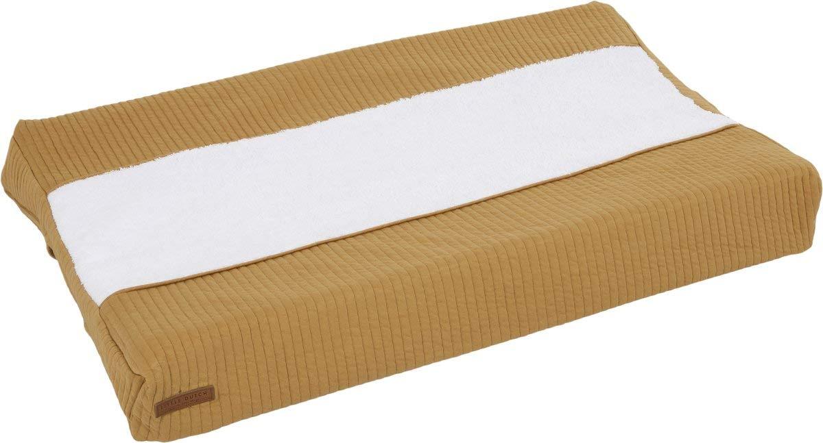 LITTLE DUTCH TE30230180 Wickelauflagenbezug pure ocker gelb Gr/ö/ße 45x70 cm