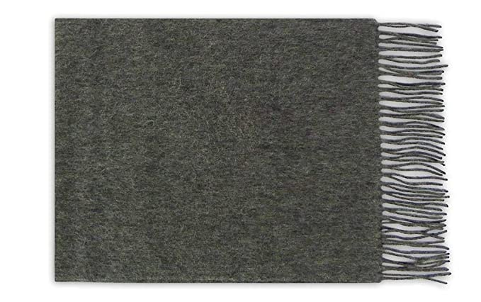 Scarfs 100/% Cashmere by Lona Scott in Mid Grey
