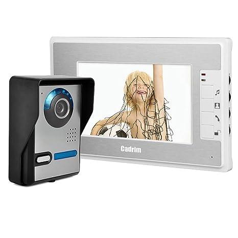 Cadrim Videoüberwachung 7 Zoll Lcd 4ch Dvr Recorder 24ghz Wifi Baby