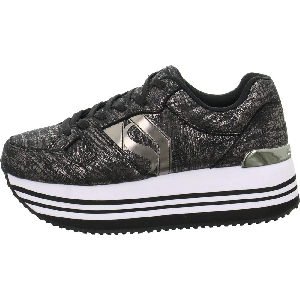 Skechers Turnschuhe Low Highrise Shine High