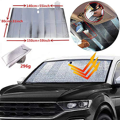GWUSKDT Windshield Protector Shade Double Protection