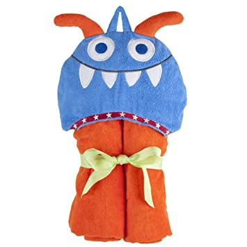 Amazon Com Elegant Baby Hoodorables Towel Wrap Fritz The Sports