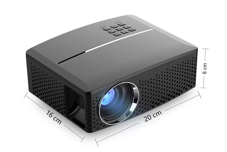 Proyector Home HD 1080P proyector de Apariencia súper pequeña ...