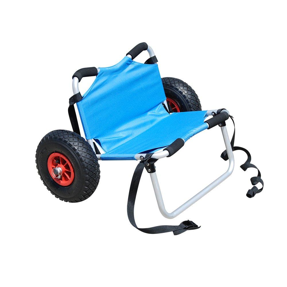 Malibu Kayaks Deluxe Aluminum Wheel Cart with Seat