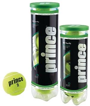Prince Unisex NX Tour Pro-Extra Duty Tenis, Amarillo, Lata de 4 Bolas: Amazon.es: Deportes y aire libre