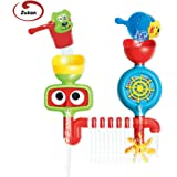 Zutan Water Fountain Bath Toy, Waterfall Station Interactive Baby Toy, Develops Hand-Eye Coordination, Motor Skills, Cognitive & Sensory Abilities, Bathtub Toy for Kids of All Ages