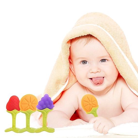 Muñeco fruta dentición juguete Set para bebé, con FDA Monitorear ...