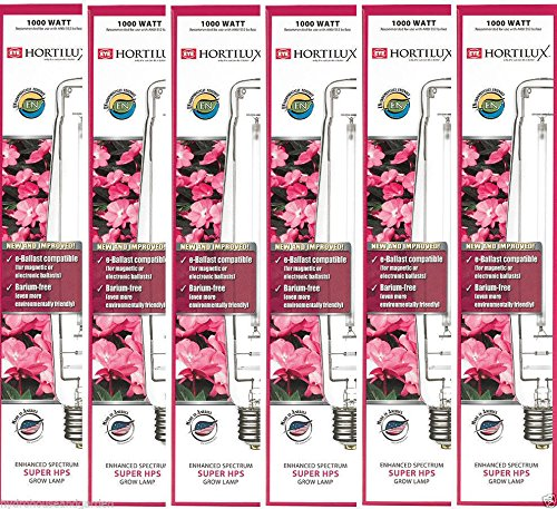 Eye Hortilux HX66785 1000 Watt Eye Hortilux Super HPS Spectrum Grow Bulb