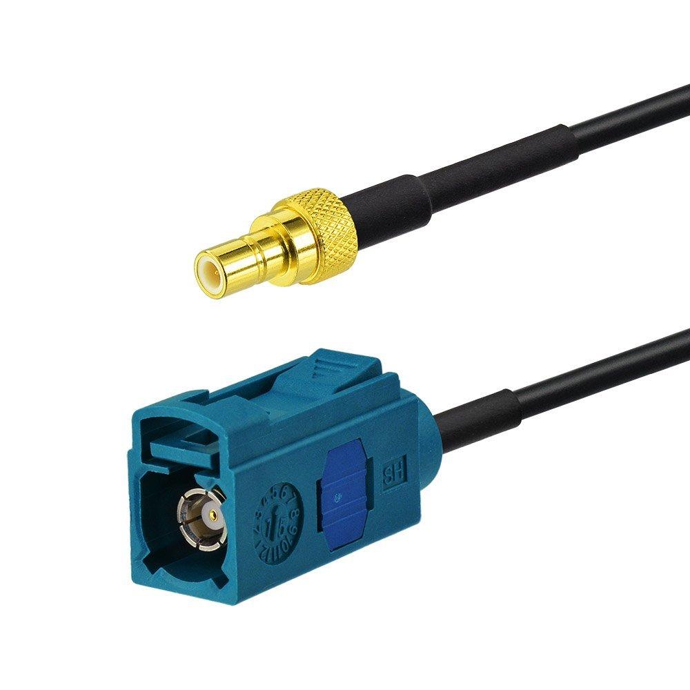 Eightwood DAB Antenne MCX Antenne Autoradio DAB Scheibenantenne mit MCX Stecker 3m 9.8ft RG174 Antenne Verl/ängerung f/ür Auto Radio Blaupunkt TechniSat Pioneer Sony Kenwood Alpine MEHRWEG