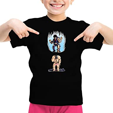 Parodie auf Kenshiro von Hokuto No Ken - Manga Mädchen Kinder T-Shirt (721