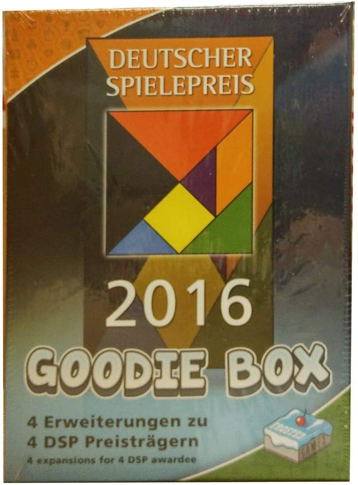 Frosted Games FRG00006 Deutscher Spielepreis 2016 Goodie Box Juego de Mesa: Amazon.es: Juguetes y juegos