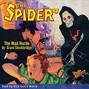 Spider #8, May 1934: The Spider Audiobook
