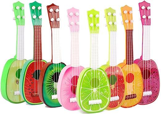 Teabelle - Guitarra Musical de Fruta, Ukelele, Juguete Educativo ...