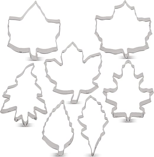 Autumn Fall Leaves Maple Leaf 3.5/'/' Cookie Cutter NEW