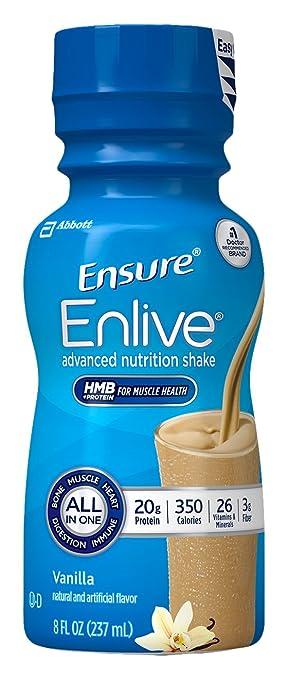 ensure enlive nutrition shake vanilla 12 count