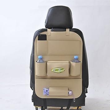 Amazon.com: Doremy Car Back Seat Organizer PU Leather Seat with ...