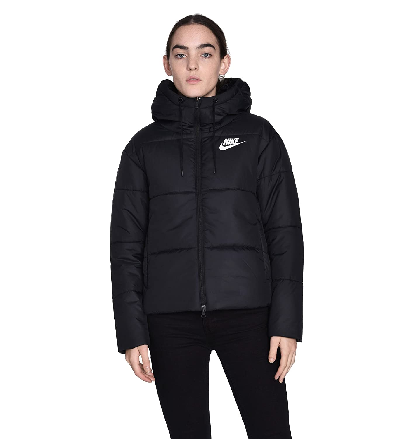 869258 Women's Synthetic Fill Nike Sportswear Jacket 010 qVUpMGSz