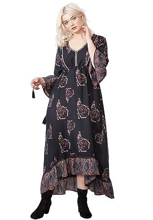 9f74c9b1b5598 Ellos Women s Plus Size Flora A-Line Maxi Dress at Amazon Women s ...