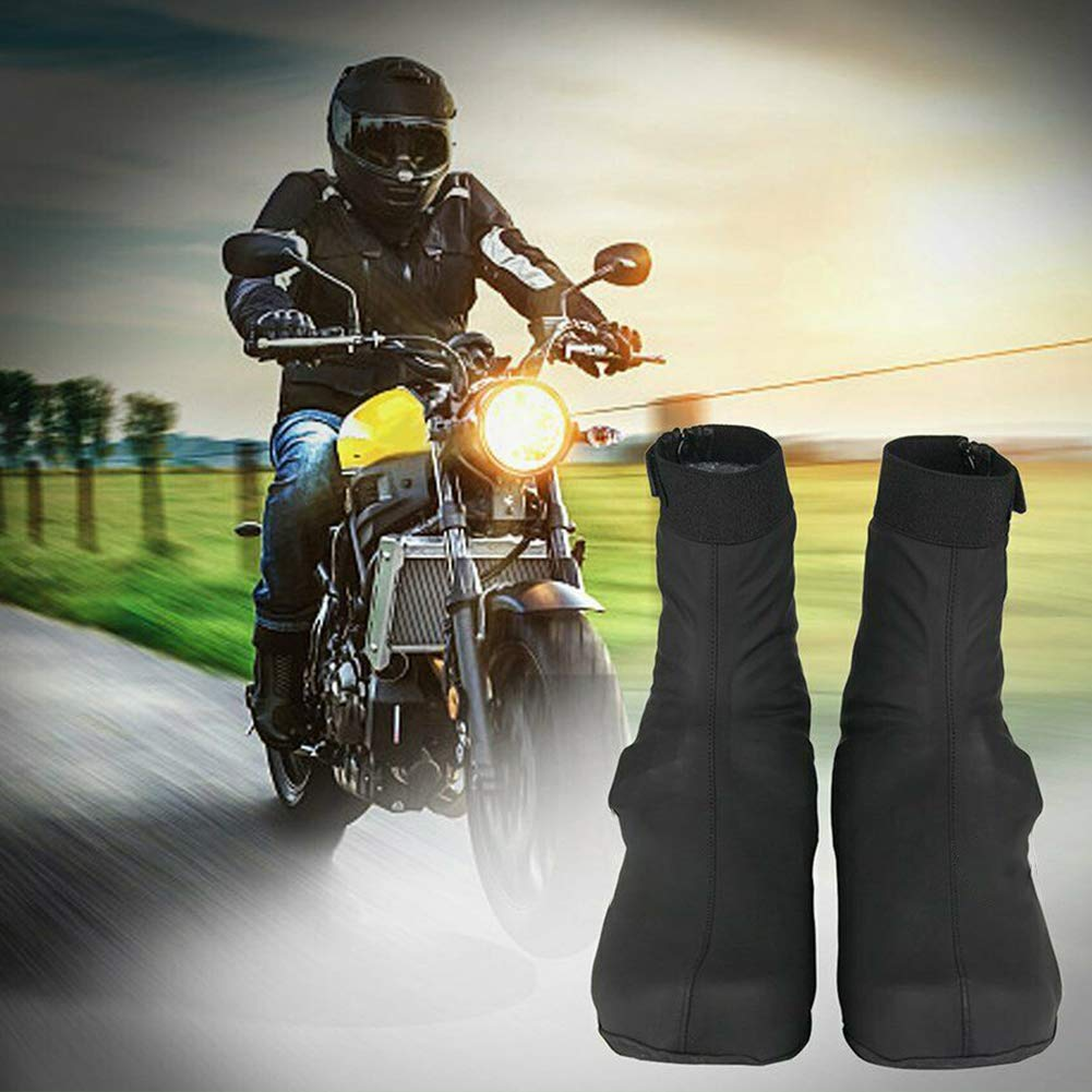 Fundas para Zapatos de Bicicleta para Deportes al Aire Libre Antideslizantes Impermeables Unisex Resistentes al Viento Almabner Medium Show