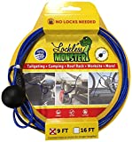 Lockless Monster Anti-Theft Cable No Locks Multitools, 9'