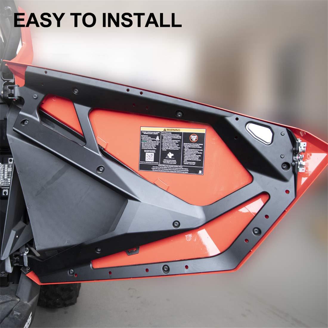 KIWI MASTER Door Closeoff Inserts Compatible for 2020 Polaris RZR PRO XP 2883765