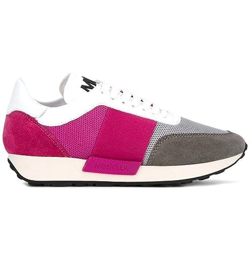 01881 Moncler Scarpe 09a 2028100 Louise Sneakers Donna C1 Grigio 0HwxqCz0