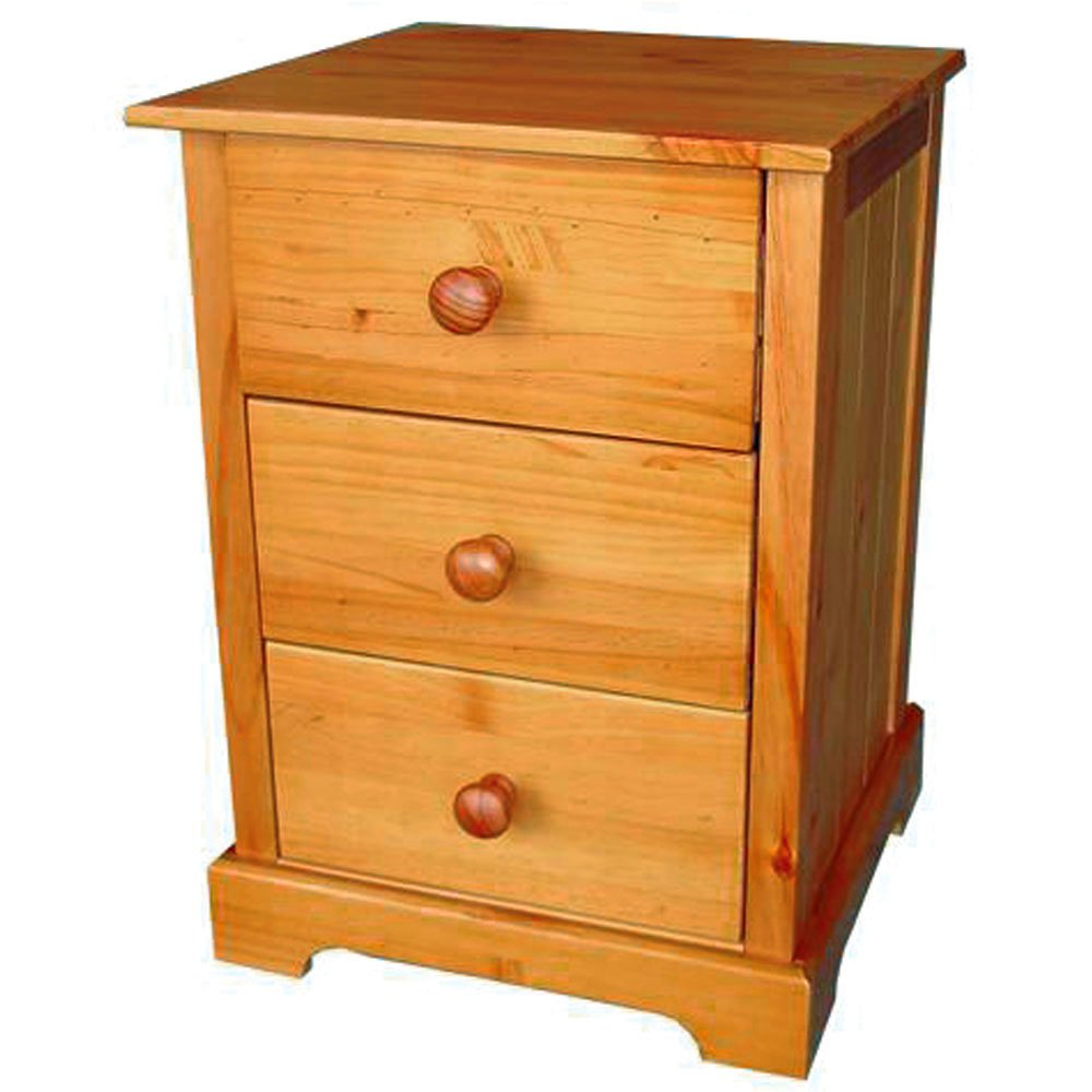 - Baltic 3 Drawer Bedside Cabinet: Amazon.co.uk: Kitchen & Home
