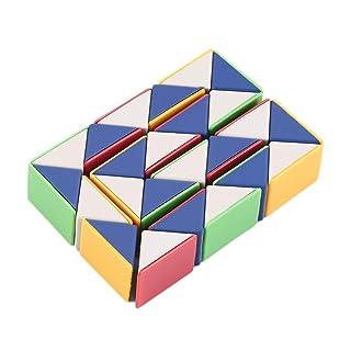 ClookYiit Snake Magic 3D Cube Gioco Puzzle Twist Toy Party Viaggi Famiglia Regalo Bambino Buono per promuovere l'intelligenza dei Bambini