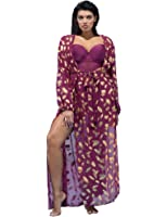 swimsuitsforall Women's GabiFresh Burgundy Firework Dress