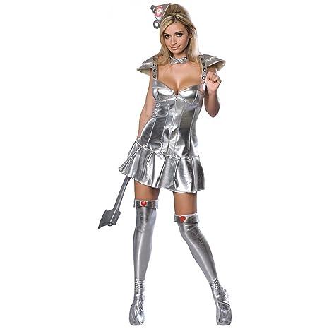 Costume Carnevale Ufficiale Donna di Latta Mago di Oz film – sexy donna  Extra Small ef5b742abc0