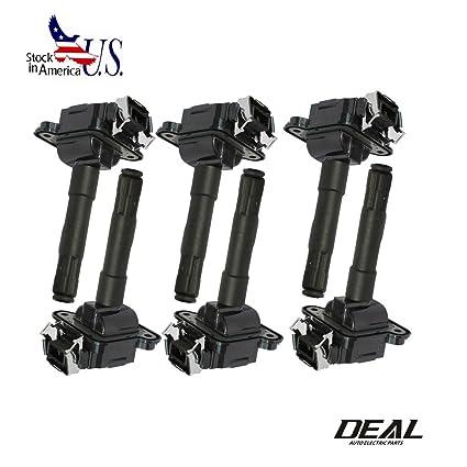 Amazon.com: VIOJI 6pcs Ignition Coils For Audi Volkswagen UF290 1.8L L4 2.7L V6 Turbo 3.7L 4.2L V8 Audi A4 A6 A8 Quattro Passat: Automotive