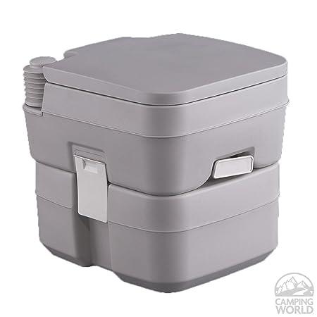 Heng S 2402 Travelloo Portable Toilet 5 Gallon Grey Rv