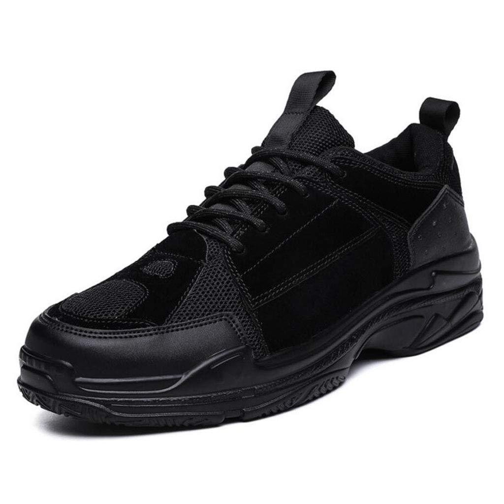 XxoSchuhe Turnschuhe Herbst Breathable Old Schuhes Herren niedrig zu helfen, große Größe Sportschuhe Herrenschuhe Sole Material PU