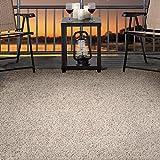 Lavish Home Outdoor/Indoor Shag Rug - Taupe - 8'x10'