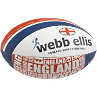 Webb Ellis England Souvenir Item Supporter Ball - Red, Size 5
