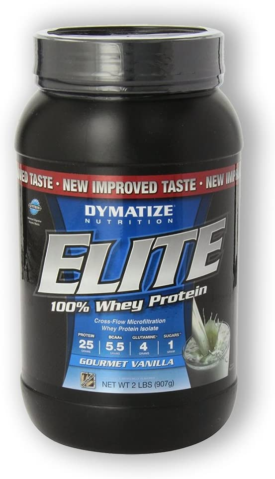 Dymatize All Natural Elite Whey Protein Isolate Gourmet ...