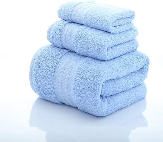 Toallas de baño, Juego de Toallas de algodón Egipcio, baño Super ...